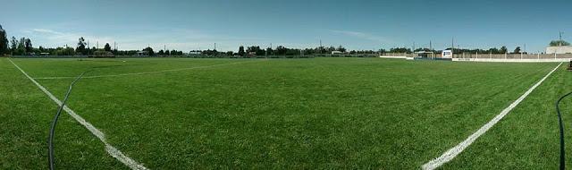 cancha de Independiente de San Cayetano panoramica