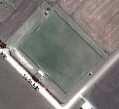 cancha de Independiente de San Cayetano google map