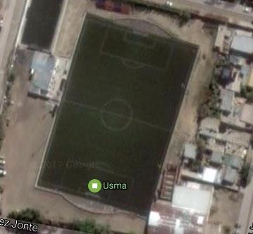 cancha de USMA de Comodoro Rivadavia google map