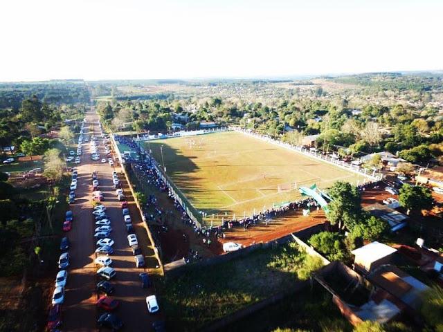 Estadio de Deportivo Jardín América desde el aire6