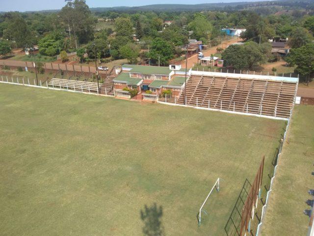 cancha Jardín América tribunas
