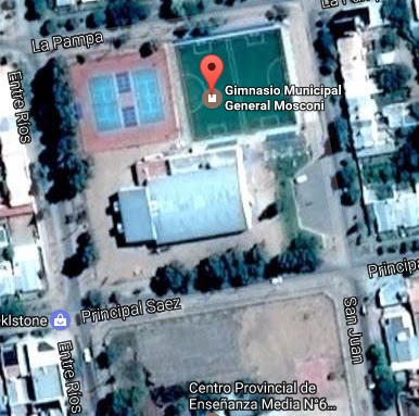 Gimnasio Municipal de Cutral Có google map