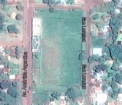 cancha de Deportivo Jardín América google map