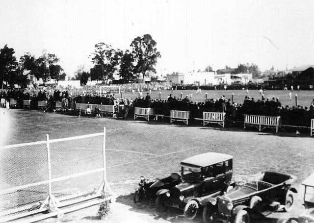 La vieja cancha de Quilmes 1927