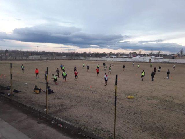 estadio club Eugenio Bustos