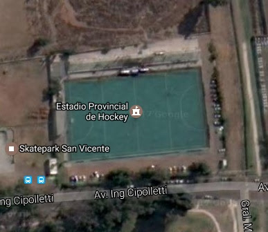 Estadio Hockey Godoy Cruz google map