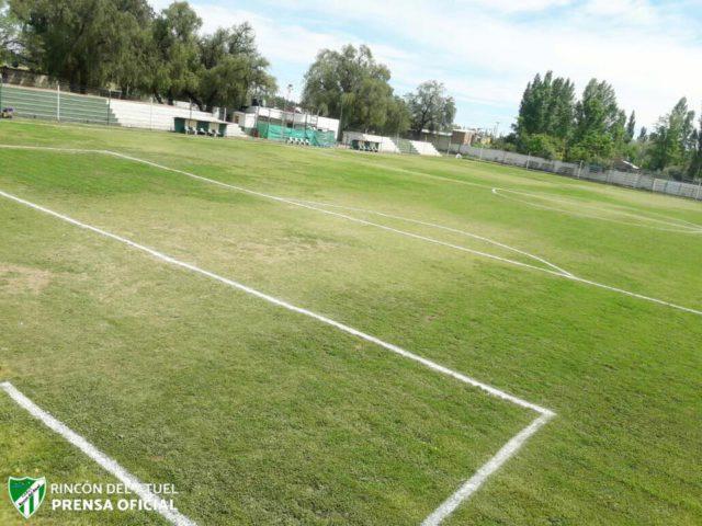 estadio Rincón del Atuel tribuna