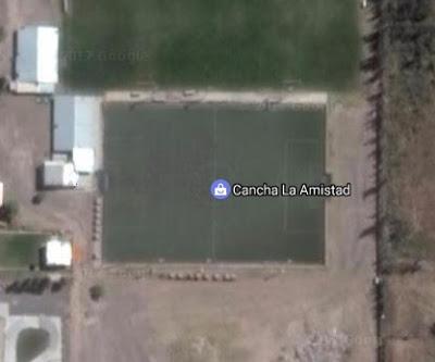 cancha de La Amistad de Cipolletti google map