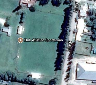 cancha de Sportsman de Carmen de Areco google map