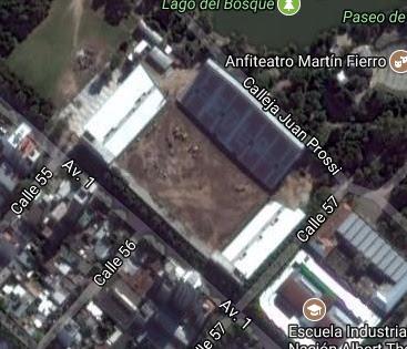 cancha de Estudiantes de La Plata google map