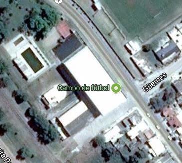 Estadio de Independiente de Oliva google map