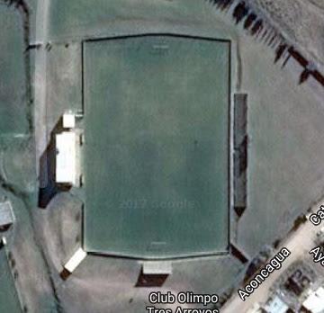 cancha de Sportivo Olimpo de Tres Arroyos google map