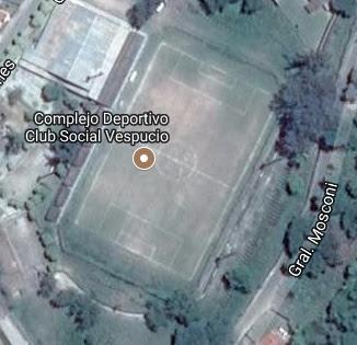 cancha de Social Vespucio de Campamento Vespucio google map