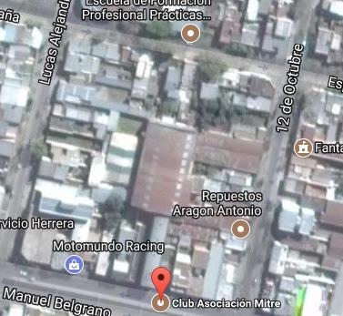 Estadio de Asociación Mitre de Tucumán google map