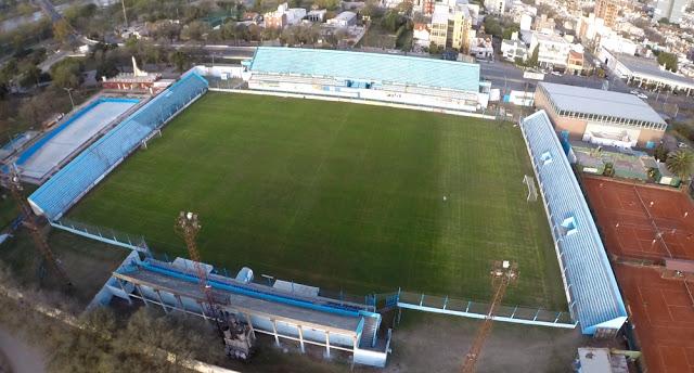 Estudiantes Río Cuarto vista aerea