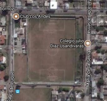 cancha de Los Andes de Córdoba google map