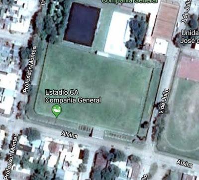 cancha de Compañia General de Salto google map