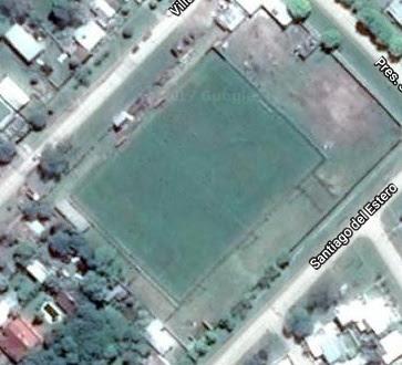 cancha de Independiente FBC de Hernandarias google map