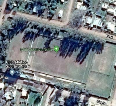 cancha de Sportivo Norte de Laboulaye google map