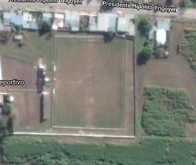 cancha de Unión Simoca google map