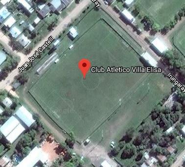 cancha de Atlético Villa Elisa de Entre Ríos google map