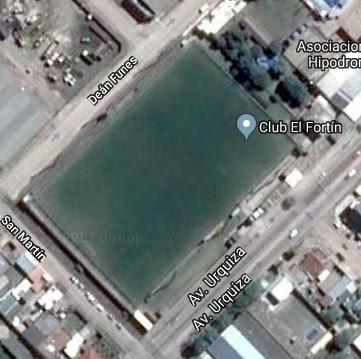 cancha de El Fortín de Olavarría google map