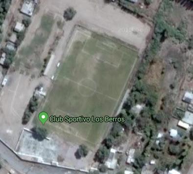 cancha de Sportivo Los Berros google map