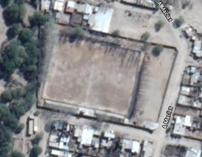 cancha de Boulevard Norte de Santa María google map