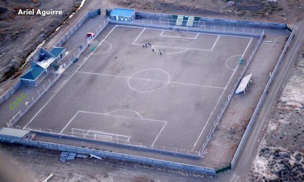 cancha de Sportivo Santa Cruz vista aerea