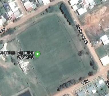 cancha de Deportivo Cosmos de Federación google map