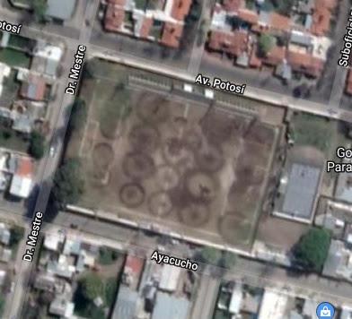 cancha de Sportivo Mercedes de Villa Mercedes google map