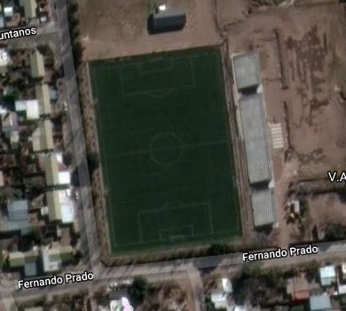 cancha de GEPU de San Luis google map