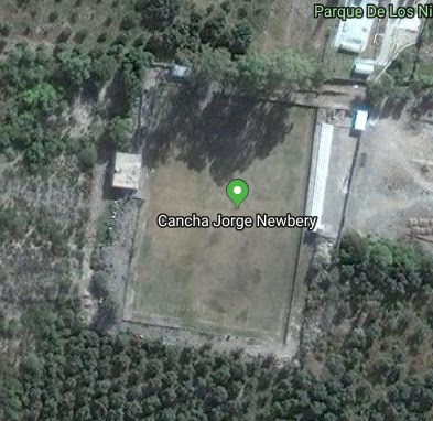 Jorge Newbery Pomán google map