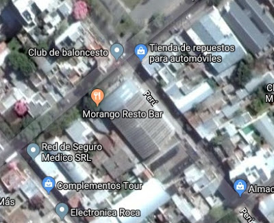 Estadio de Juventud BBC google map