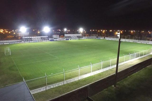 Racing Club Eduardo Castex iluminacion