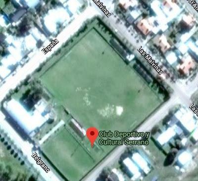 cancha de Deportivo y Cultural Serrano google map