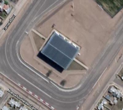 Estadio Arena La Pedrera google map