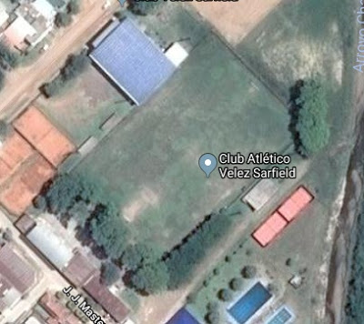 cancha de Velez Sarsfield de Chajarí google map
