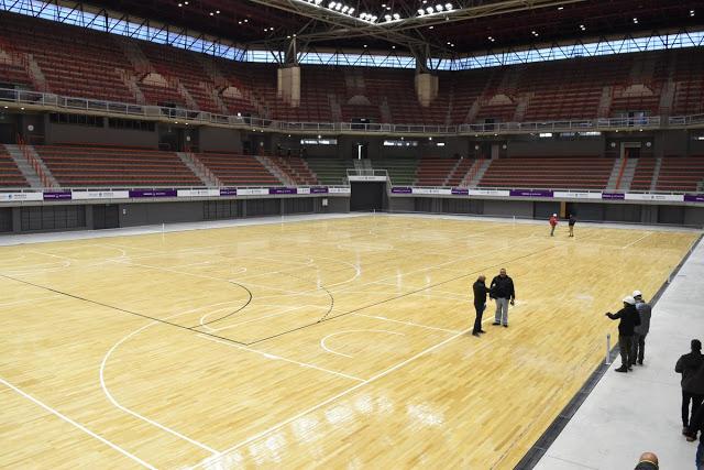 Estadio Cubierto de Mendoza vacio