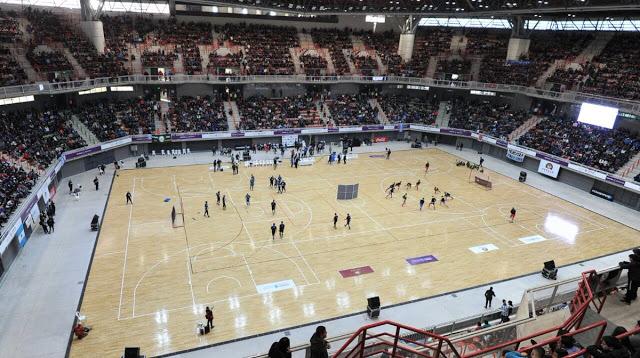 Estadio Cubierto Mendoza tribunas