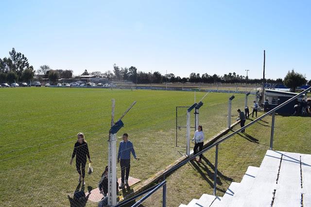 Estadio de Sarmiento de Pigüé arco