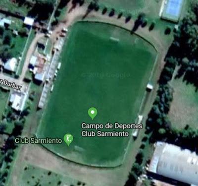 Estadio de Sarmiento de Pigüé google map