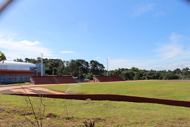 Polideportivo Municipal de Aristobulo del Valle tribunas