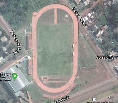 Polideportivo Municipal de Aristobulo del Valle google map