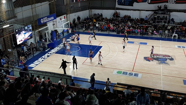 Independiente BBC estadio basquet