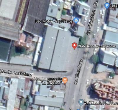 Deportivo Juventus Corrientes google map