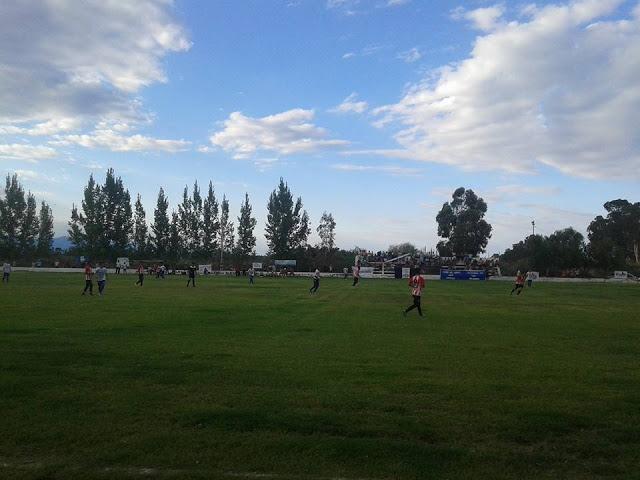 Estadio Sportivo Del Carril tribuna
