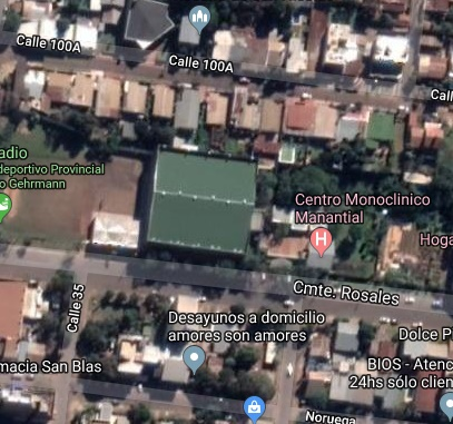 Polideportivo Finito Gehrmann maps