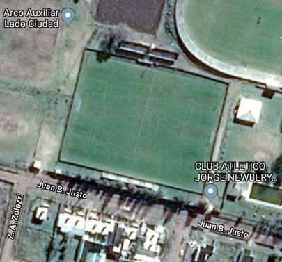 Jorge Newbery Rufino google map
