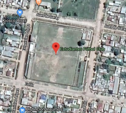 Estudiantes Vera google map